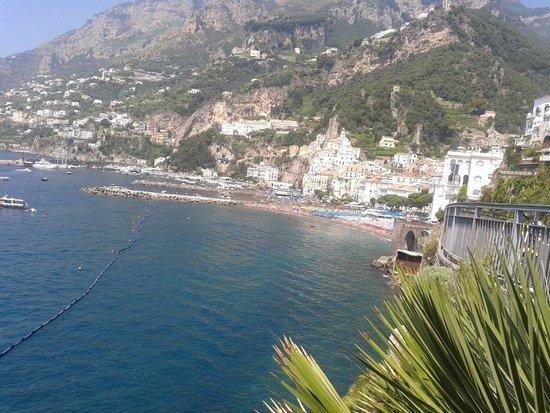 Residenza Pansa : view of Amalfi