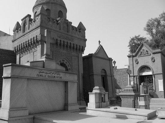 Viejo Cairo (Coptic Cairo): The St. George Cemetery In Old Cairo Coptic Cairo