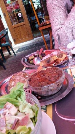 Andon, Francia: entrées du menu