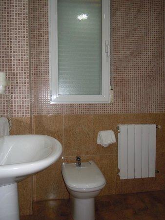 Hotel los Chiles: Baño