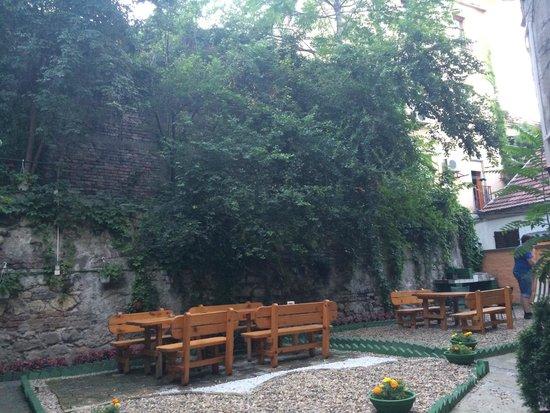 Hostel Skadarlija Sunrise: garden