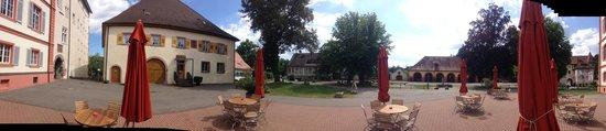Schloss Beuggen: La terrazza