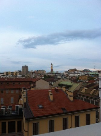 Armani Hotel Milano: View from my room
