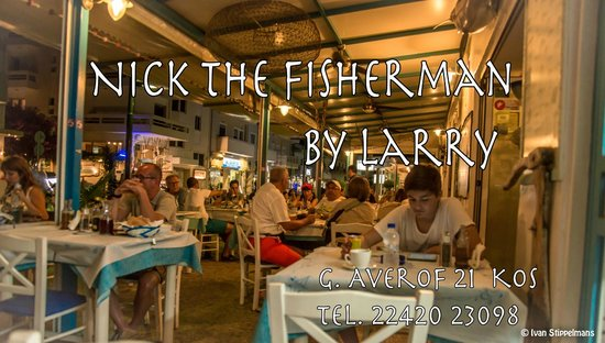 Nick the Fisherman : Vis restaurant   !!! zeer lekker