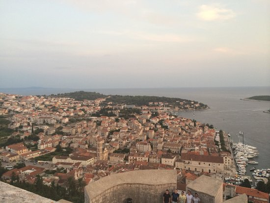 Apartmani Viskovic Marinka : Views from top of the castle