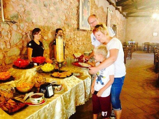 Hotel il Monastero: colazione in sala