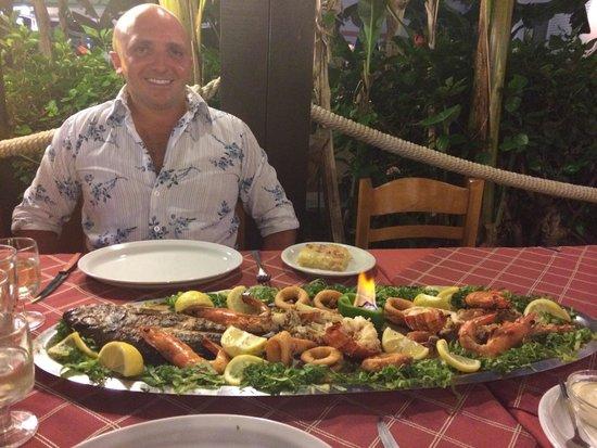 Sunset Taverna: The Stunning Sharing Seafood Platter