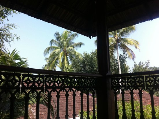 Motty's Homestay: The view from my Veranda