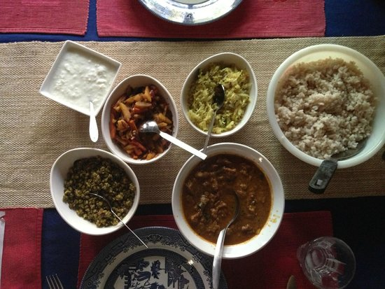 Motty's Homestay: Lali's wonderful cooking