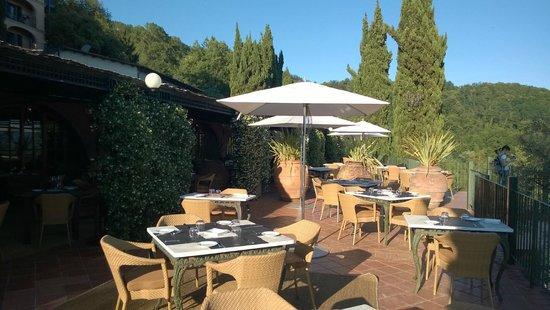 Renaissance Tuscany Il Ciocco Resort & Spa: restaurant´s terrace