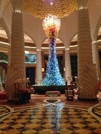 Atlantis, The Palm : Hall dell'albergo