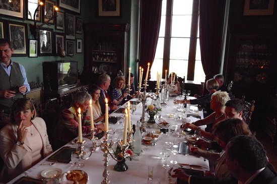 Balfour Castle: Formal Dinning
