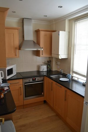 No 1. The Mansions by Mansley : Kitchen in two bedroom apartment on floor 5