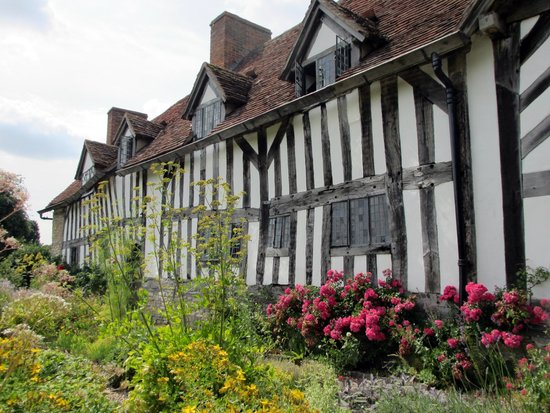 Mary Arden's Farm: The original farmhouse
