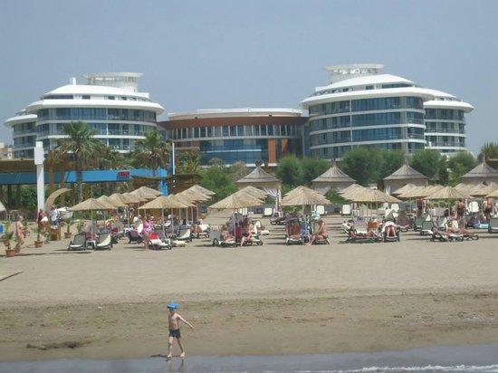 Baia Lara Hotel: Пляж
