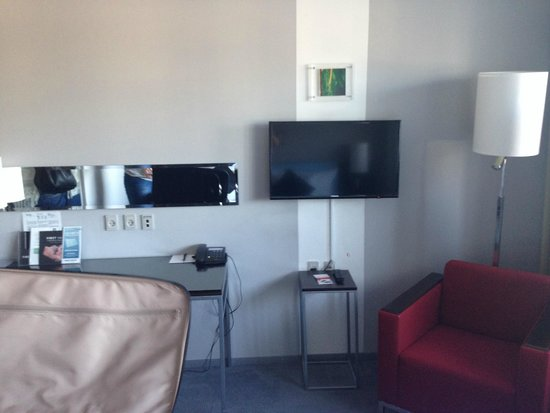 Scandic Sluseholmen: Fernseher