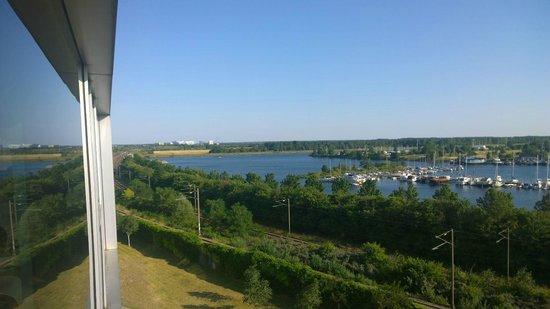 Scandic Sluseholmen: Aussicht vom Jacuzzi her