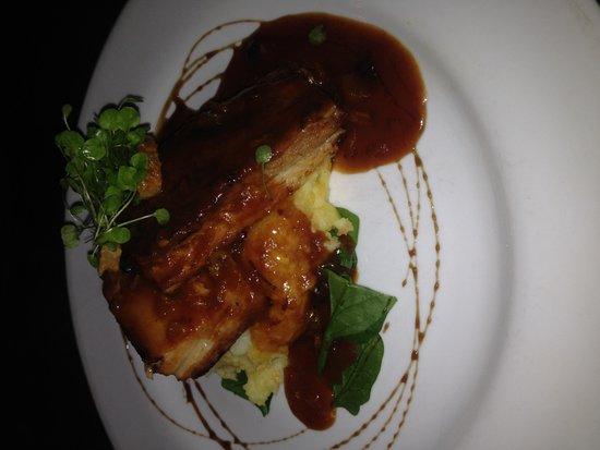 Raupo Cafe: Pork Belly