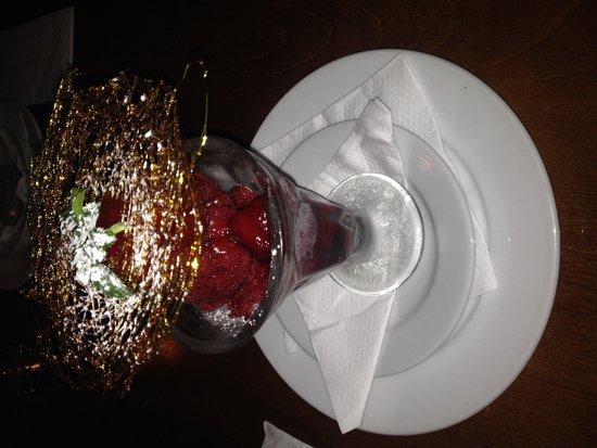 Raupo Cafe: Sorbet