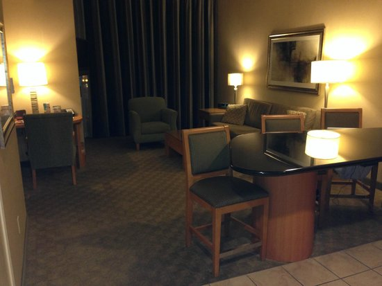 Platinum Hotel and Spa : Living Room