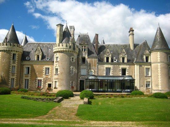 Château Golf des Sept Tours : Vue dos au golf