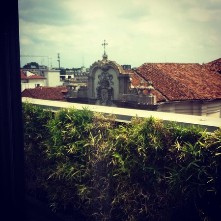 Armani Hotel Milano: View from my Balcony overlooking the Church of San Francesco Di Paola