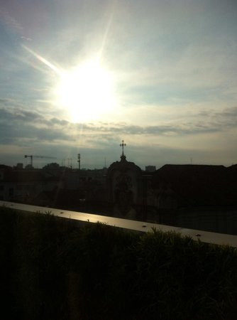 Armani Hotel Milano: A view from my balcony