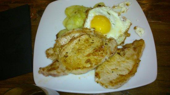 La Zaranda: plato menú