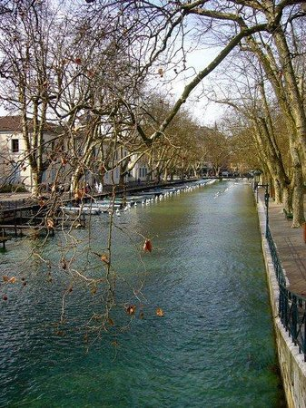 Lac d'Annecy : Annecy canals