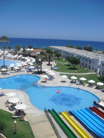 Louis Creta Princess Beach Hotel : The view from the rooms ...