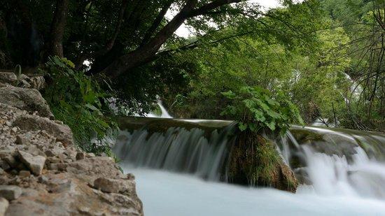 Plitvice Lakes National Park : водопад