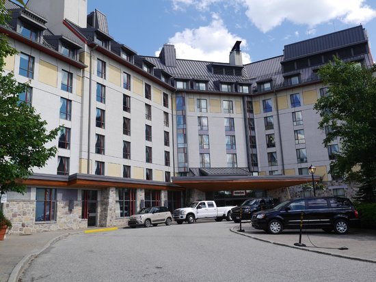 Fairmont Tremblant: Main exterior view of the hotel