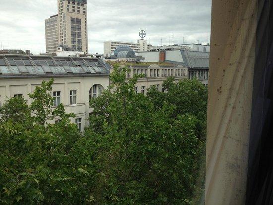 Steigenberger Hotel Berlin: Вид из номера