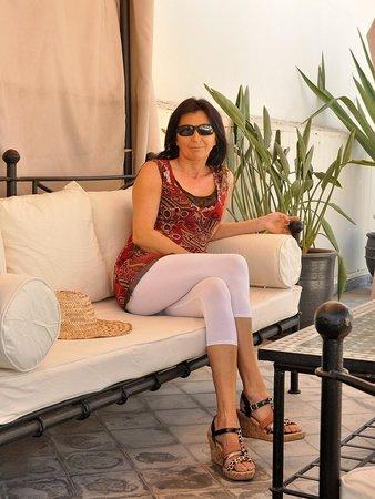 Riad D'ari : Après le petit déjeuner en terrasse