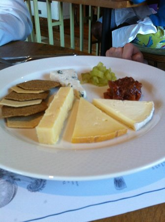 Outlaw's: Cheese board