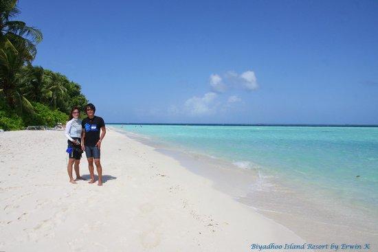 Biyadhoo Island Resort : Biyadhoo beach