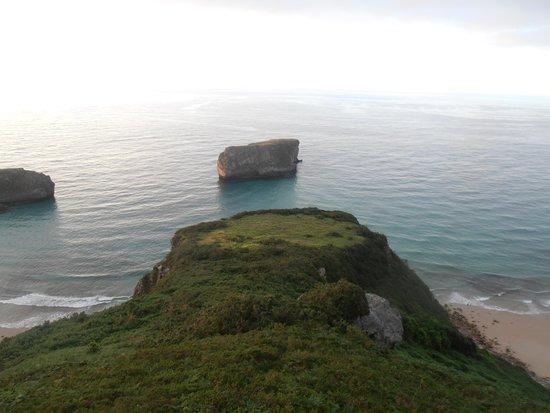 Hotel Rural Andrin: Playas Ballota y Andrín
