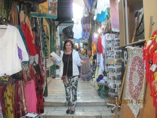 Via Dolorosa (Voie Douloureuse) : Святая улица или Восточный базар?
