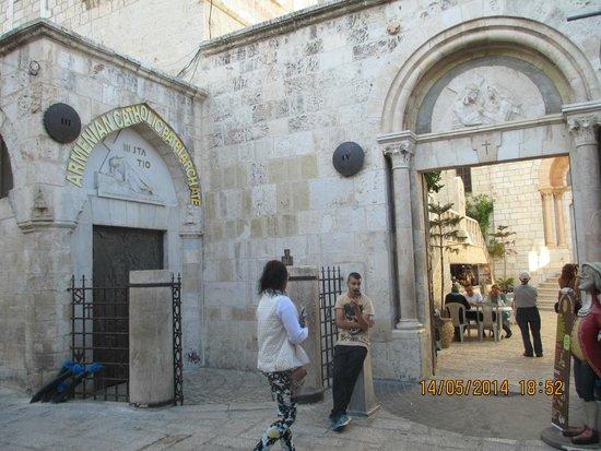 Via Dolorosa (Voie Douloureuse) : III и IV остановки Крестного пути