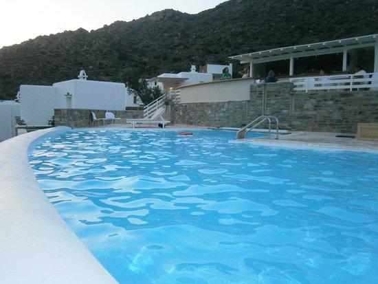 Ostria Village: The pool
