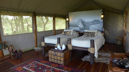 Campi ya Kanzi: Luxury Tented Cottage