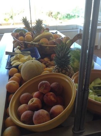 SENTIDO Vasia Resort & Spa : fruit selection