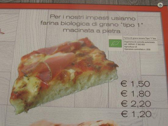 piadineria pizzeria il vicolo : Farina bio e prdotti certificati (qualita')