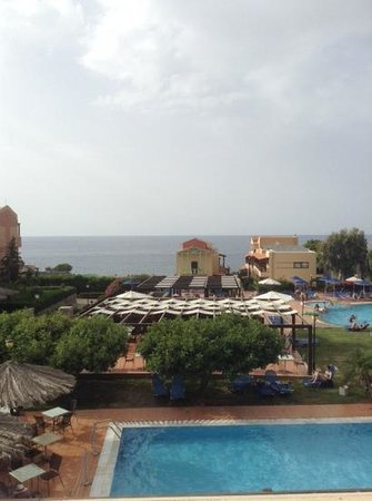 SENTIDO Vasia Resort & Spa : our balcony view!