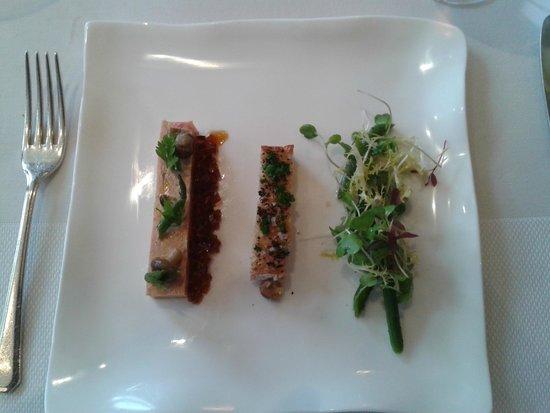 Gidleigh Park Restaurant: foie gras