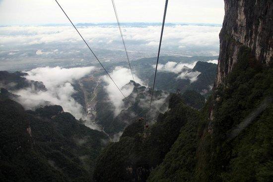 Tianmen Mountain of Zhangjiajie: Cable car madness