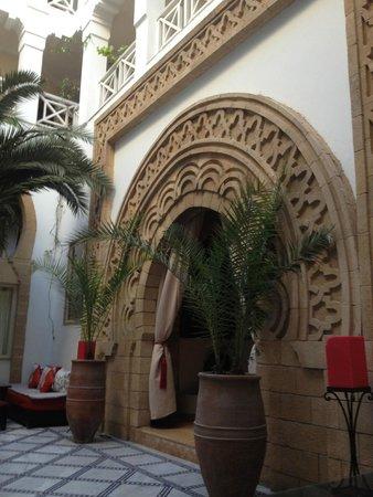 Riad Dar L'Oussia : the façade of Dar l'Oussia