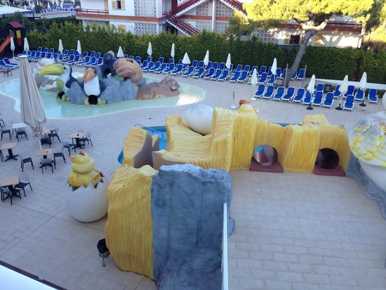 Hotel Condesa de la Bahía: Zona de Splash y Piscinas Infantiles