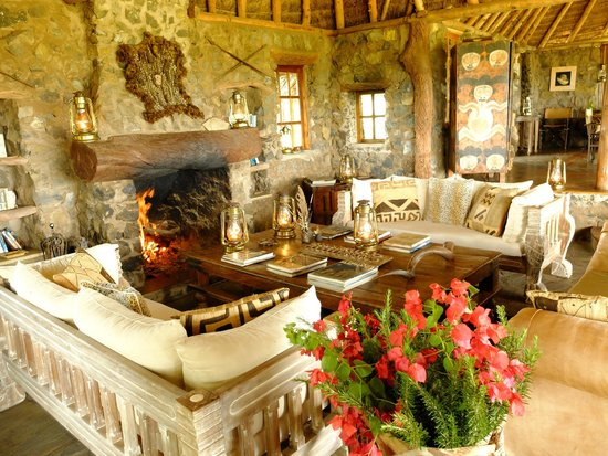 Campi ya Kanzi: Cozy interiors of Tembo House