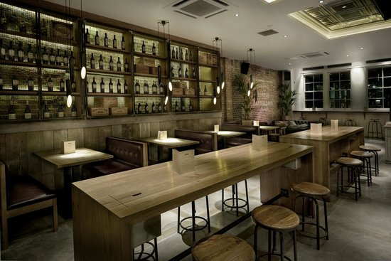 The Grill on the Market : BAR AREA